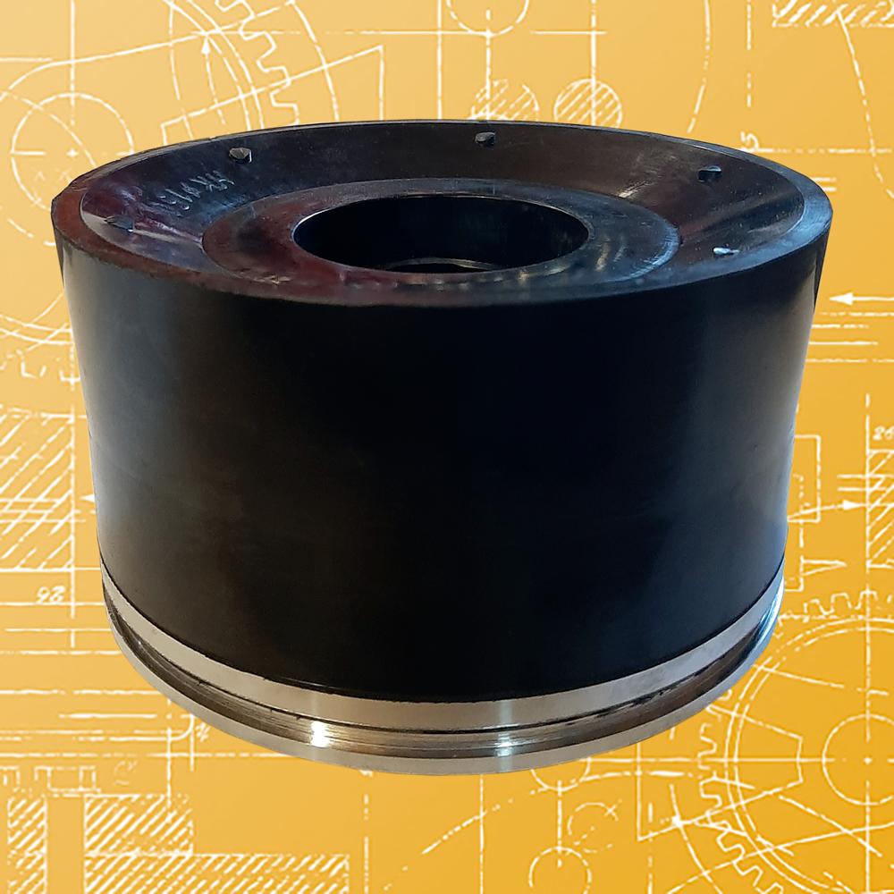 Поршень литой НБТ-600 ф 150 ПТ2-150, резина