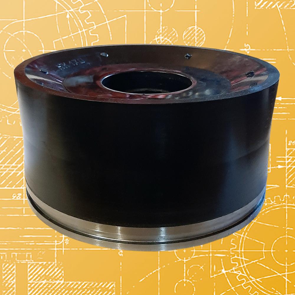 Поршень литой НБТ-600 ф 170 ПТ2-170, резина