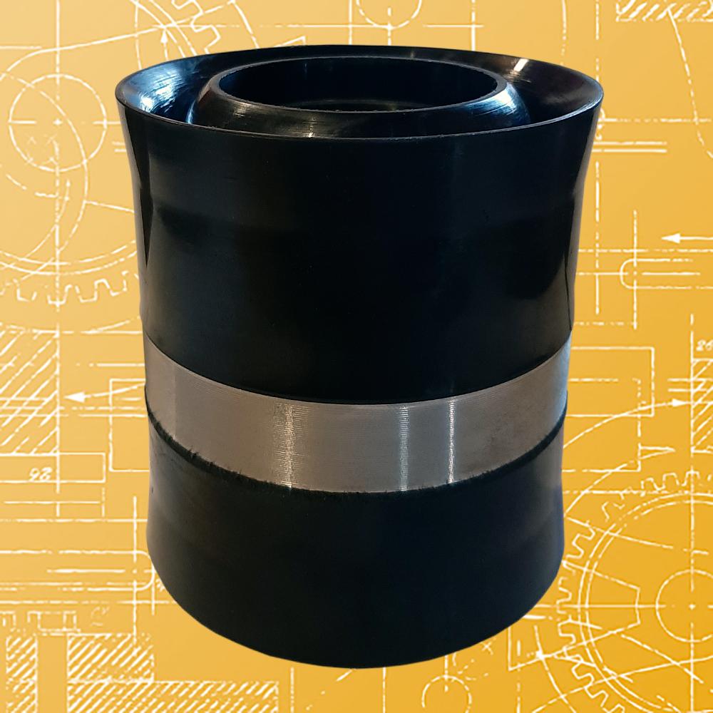 Поршень литой АФНИ.306.571.001 ф 90, резина